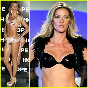 Gisele Bundchen: 'Hope' Hottie on the Runway!