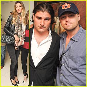 Gisele Bundchen & Leonardo DiCaprio: Soutine/Bacon Debut!