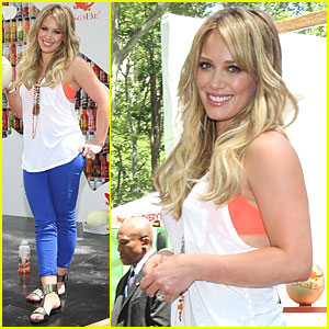 Hilary Duff: Try Everything with Sobe!