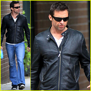 Hugh Jackman: West Village Walk!