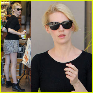 January Jones: Grocery Gal