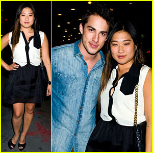 Jenna Ushkowitz & Michael Trevino: Broadway Date Night!