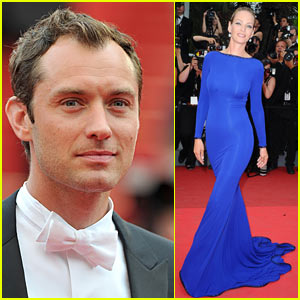Jude Law & Uma Thurman: Cannes Closing Film!