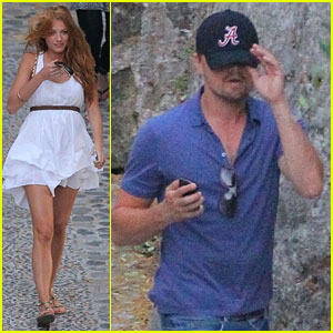 Leonardo DiCaprio & Blake Lively: Separate Hotel Exits