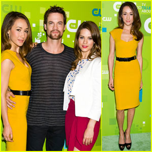 Maggie Q: CW Upfront with Shane West & Lyndsy Fonseca