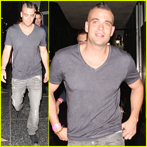 Mark Salling: Night Out On The Town!