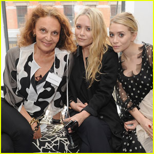 Mary-Kate & Ashley Olsen: CFDA Membership Meeting