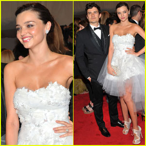 Orlando Bloom & Miranda Kerr - MET Ball 2011