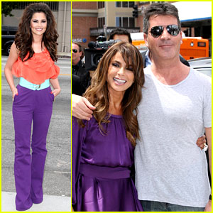 Paula Abdul: 'X Factor' Auditions with Simon & Cheryl