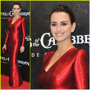 Penelope Cruz: 'Pirates' Premiere in Germany!