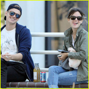 Rachel Bilson & Hayden Christensen: Food Truck Lunch!