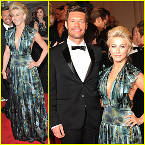 Ryan Seacrest & Julianne Hough - MET Ball 2011