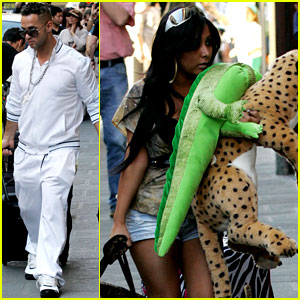 Snooki & The Situation: 'Jersey Shore' Cast Arrives in Italy!