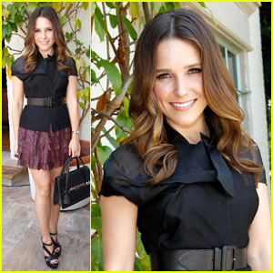 Sophia Bush: P.S. Arts Bag Lunch!