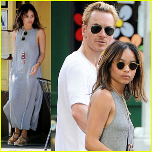Zoe Kravitz & Michael Fassbender: New York City Stroll!
