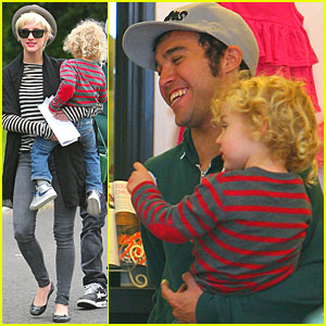 Ashlee Simpson & Pete Wentz: Boutique with Bronx!