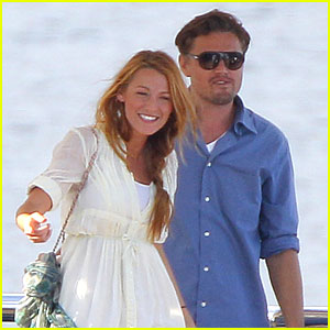 Blake Lively & Leonardo DiCaprio: Disneyland After MTV Awards!