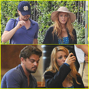 Blake Lively &#038; Leonardo DiCaprio: Verona Sightseeing!