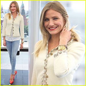 Cameron Diaz: 'Bad Teacher' in Moscow!