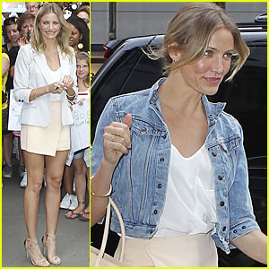 Cameron Diaz: Good Morning America!