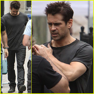 Colin Farrell: 'Total Recall' in Canada!
