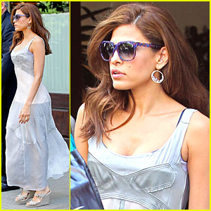 Eva Mendes: Singing in New 'Angel' Ad!