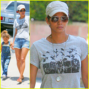Halle Berry: After School Stroll with Nahla!