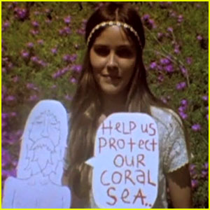 Isabel Lucas: Protect Our Coral Seas!