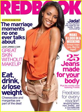 Jada Pinkett Smith Covers 'Redbook' August 2011
