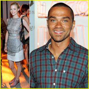 Jesse Williams & Jaime King Celebrate Summer