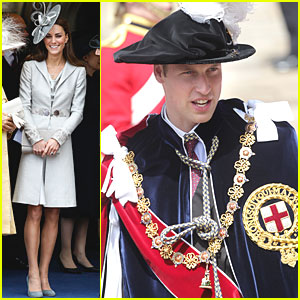 Prince William & Kate: Order of the Garter!