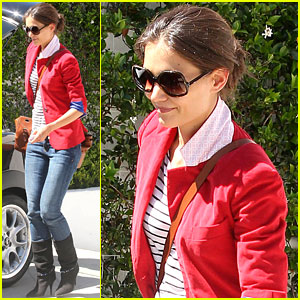 Katie Holmes: 'Mission: Impossible 4' is Intense!