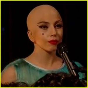Lady Gaga: Bald 'Hair' Performance!