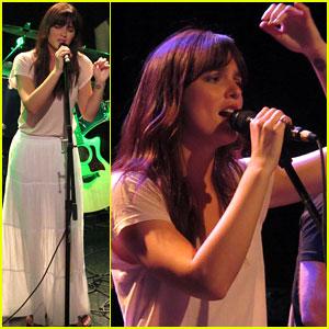 Leighton Meester: California Concert Gal!