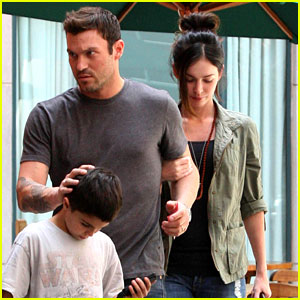 Megan Fox & Brian Austin Green: Salon Visit with Kassius!