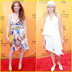 Isla Fisher & Naomi Watts: Veuve Clicquot Polo Classic!