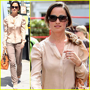 Pippa Middleton: Medical Center Visit!