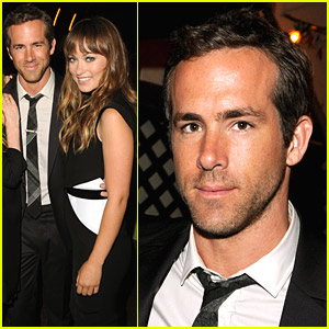 Ryan Reynolds & Olivia Wilde Celebrate 'Details'