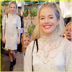 Sienna Miller: Ralph Lauren Wimbledon Party!