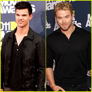 Taylor Lautner & Kellan Lutz - MTV Movie Awards 2011