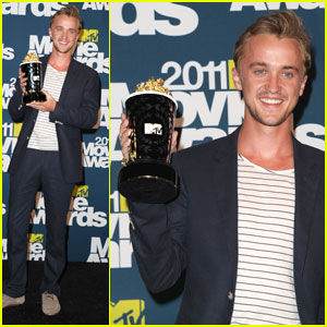 Tom Felton: MTV Movie Awards Best Villain!