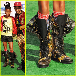Willow & Jaden Smith - BET Awards 2011 Winners!