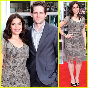 America Ferrera: 'Harry Potter' with Ryan Piers Williams!