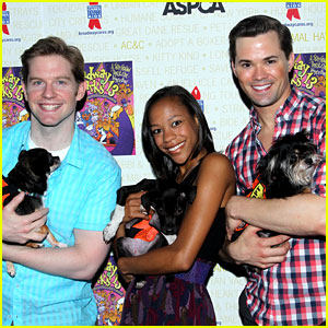 Andrew Rannells & Rory O'Malley: Broadway Barks!
