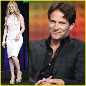 Anna Paquin & Stephen Moyer: 'True Blood' TCA Panel!