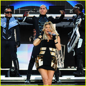 Fergie: Wireless Festival with Black Eyed Peas!