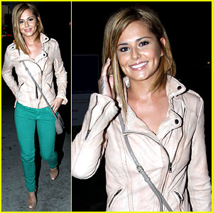 Cheryl Cole: Sushi Dinner with Derek Hough