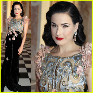 Dita Von Teese: Paris Fashion Week Closing Party!