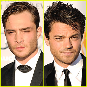 Ed Westwick & Dominic Cooper - BAFTA Brits to Watch Gala
