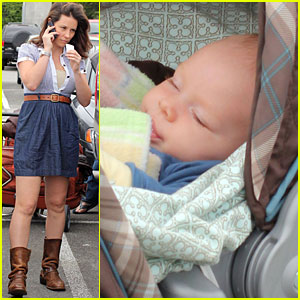 Evangeline Lilly: Meet My Baby Boy!